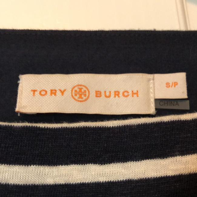 Tory Burch short dress Navy and white on Tradesy