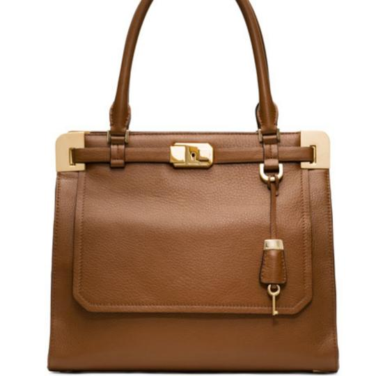 Preload https://img-static.tradesy.com/item/23679432/michael-kors-collection-blake-luggage-leather-satchel-0-1-540-540.jpg