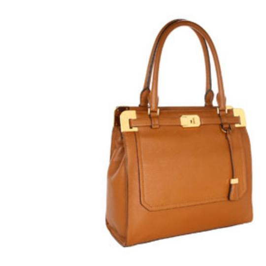 Michael Kors Collection Satchel in Luggage