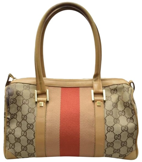Preload https://img-static.tradesy.com/item/23679466/gucci-monogram-gg-tote-with-web-handles-tanred-leather-satchel-0-2-540-540.jpg