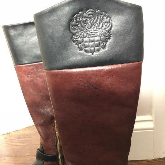 Vince Camuto black/dark wood Boots