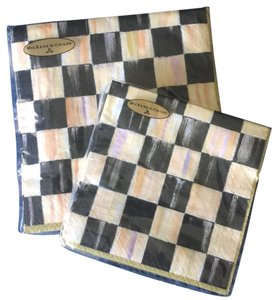 Mackenzie Childs Courtly Check Paper Napkins