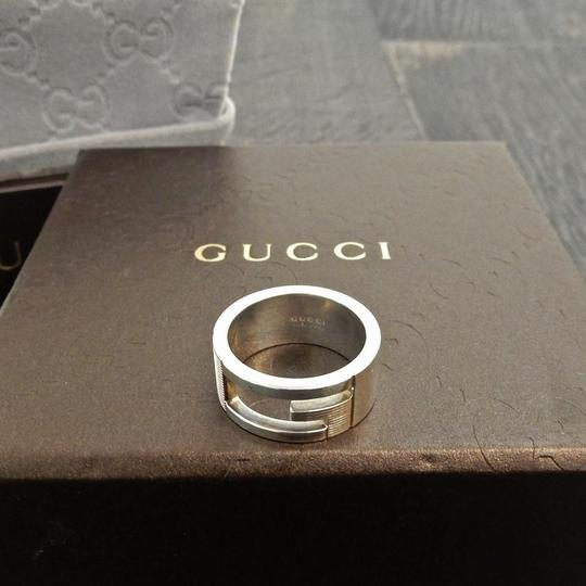 Gucci Gucci 925 Sterling Silver G Logos Ring US Size 5.25