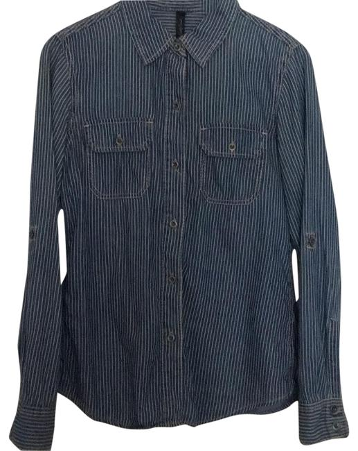 Preload https://img-static.tradesy.com/item/23679624/seven7-blue-with-white-stripes-button-down-top-size-8-m-0-1-650-650.jpg