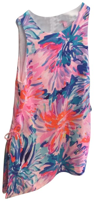 Preload https://img-static.tradesy.com/item/23679641/lilly-pulitzer-multicolor-donna-romper-shift-style-28692-short-casual-dress-size-8-m-0-1-650-650.jpg