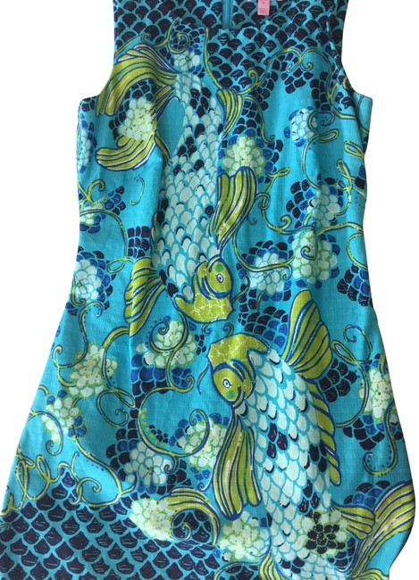 Preload https://img-static.tradesy.com/item/23679651/lilly-pulitzer-blue-workoffice-dress-size-4-s-0-1-650-650.jpg