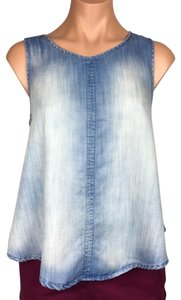 Bella Dahl Top light mist/denim