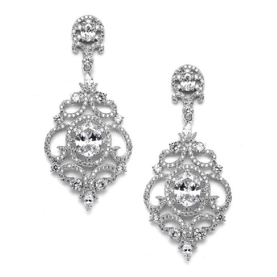 Byzantine Style Crystal Event Chandeliers Earrings