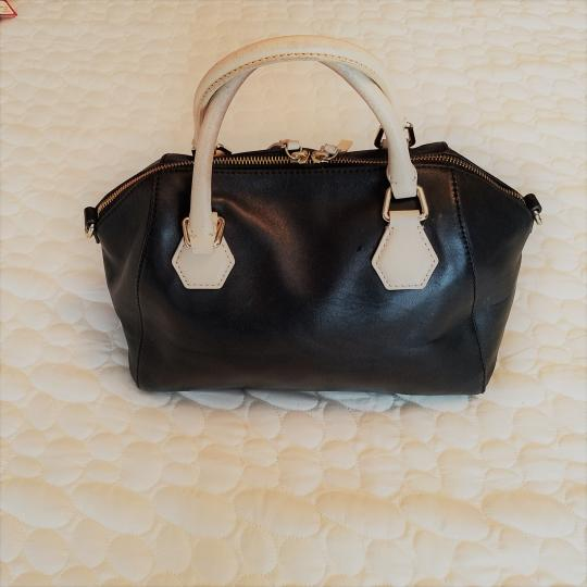 Kate Spade Pippa Leather Purse Satchel in Black