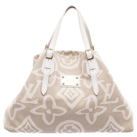 Preload https://img-static.tradesy.com/item/23679791/louis-vuitton-cabas-limited-edition-tahitienne-gm-beige-canvas-tote-0-1-540-540.jpg