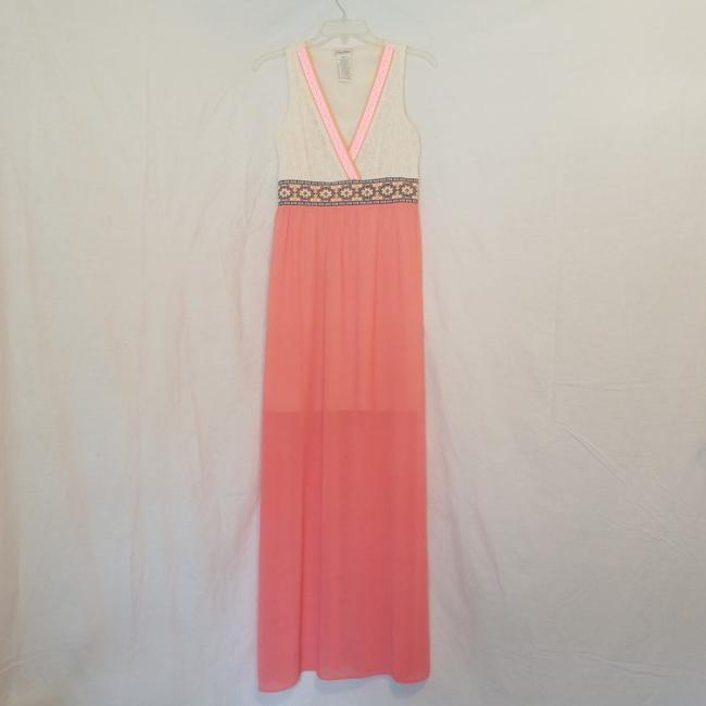 Preload https://img-static.tradesy.com/item/23679803/flying-tomato-cream-and-coral-multi-id12465-long-casual-maxi-dress-size-8-m-0-2-650-650.jpg
