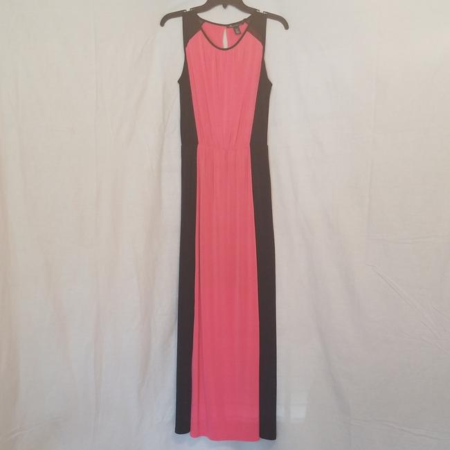 Preload https://img-static.tradesy.com/item/23679838/kenneth-cole-fuchsia-and-black-colorblock-81633-long-casual-maxi-dress-size-2-xs-0-1-650-650.jpg