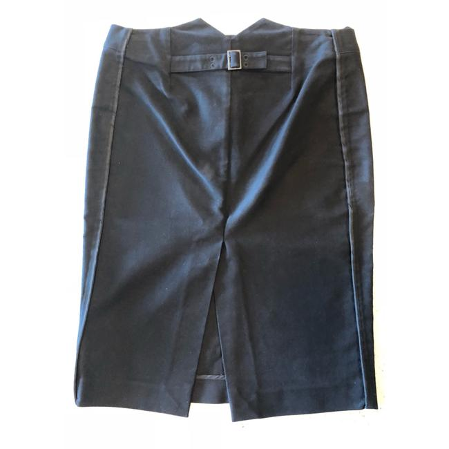 Gucci Pencil Mcqueen Prada Skirt Black