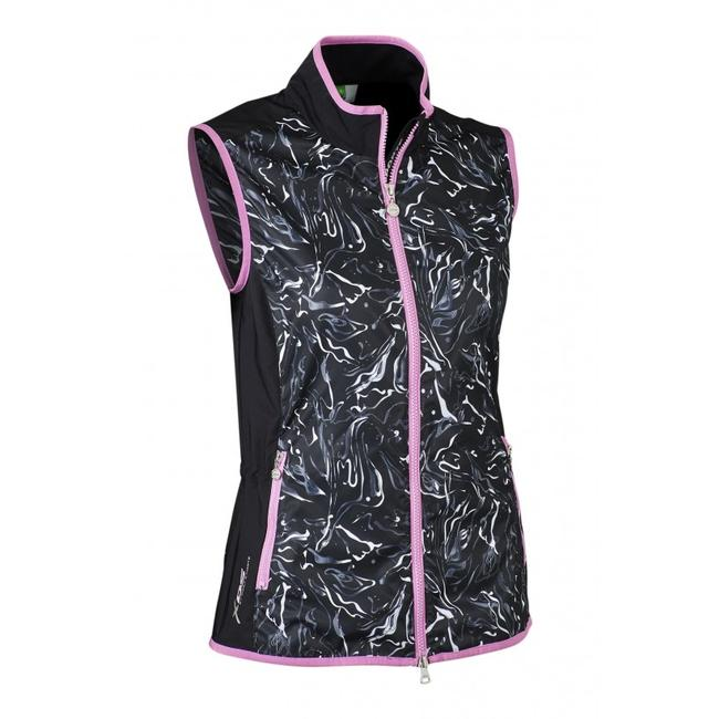 Daily Sports NEW Daily Sports Marble Wind Vest Black | GOLF