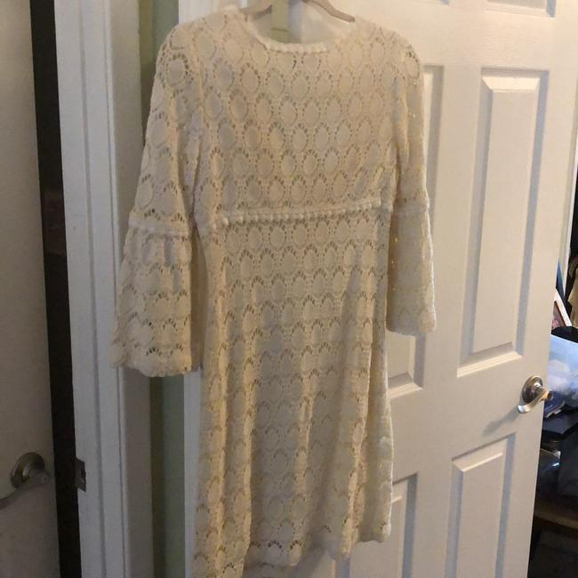 Trina Turk short dress off white/cream on Tradesy