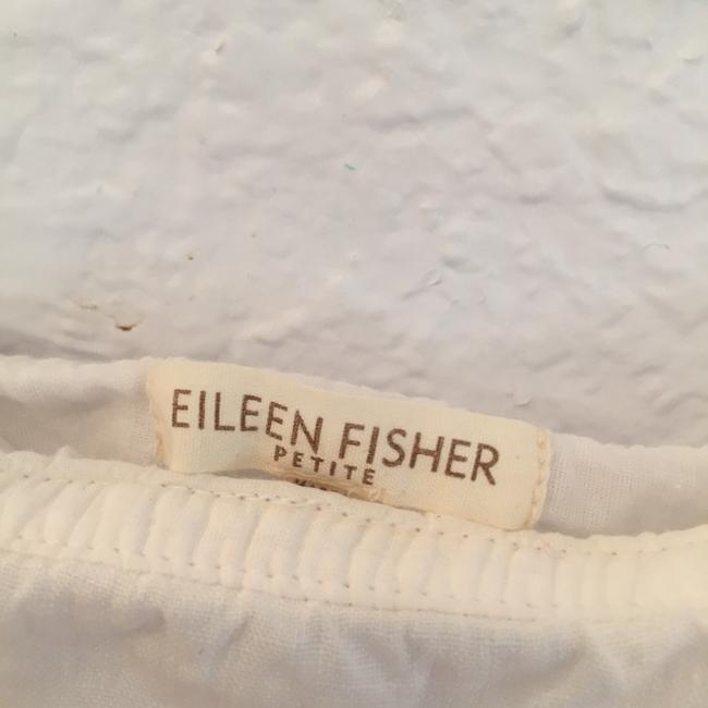 Eileen Fisher Summer Cool Feminine Cute Skirt White