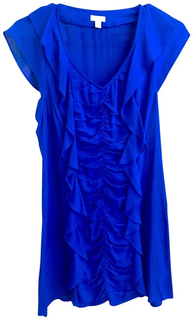 Preload https://img-static.tradesy.com/item/23680021/odille-blue-anthropology-short-night-out-dress-size-0-xs-0-1-650-650.jpg