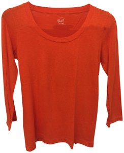 J.Crew Painter T Pumpkin Bright T Shirt Orange 264c68857