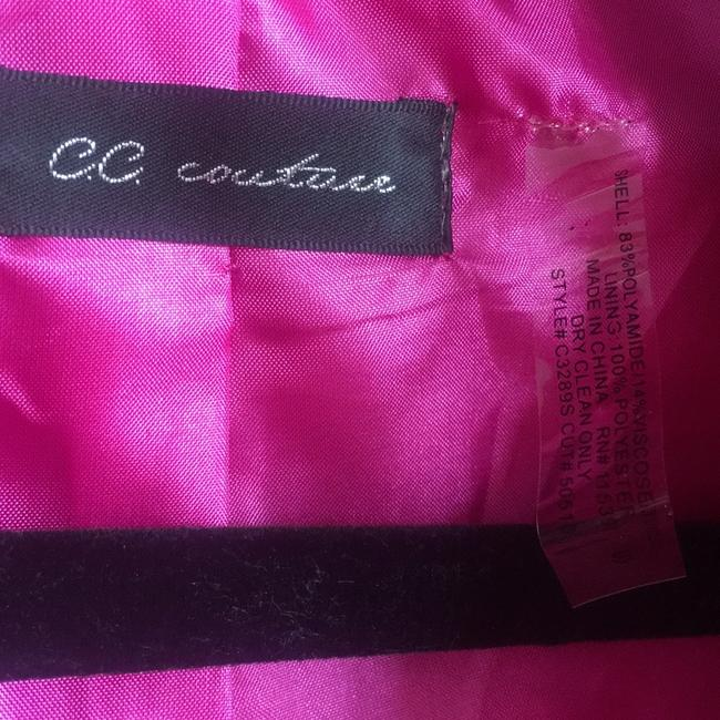 CC Couture pink and black Blazer