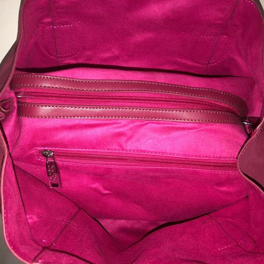 Bucco Satchel in hot pink