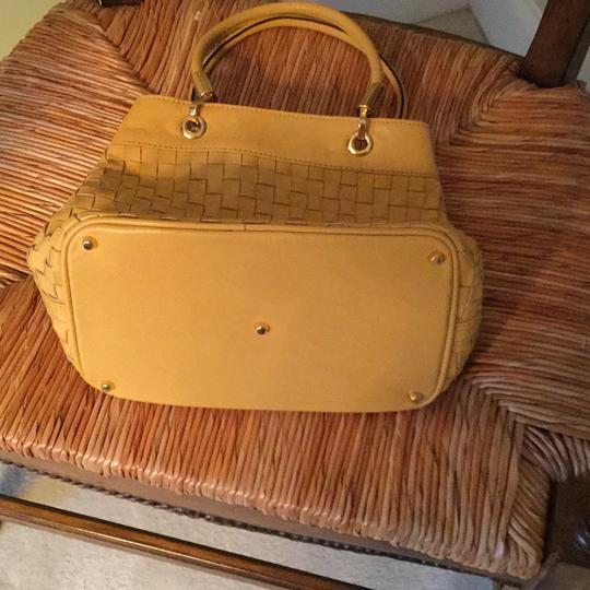 Barbara Satchel in Golden yellow