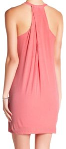 Splendid short dress Pink Soft Baby Rib Fabric Can B Beach Cover Up Racerback Soft + Comfy Lined on Tradesy