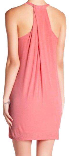 Preload https://img-static.tradesy.com/item/23680233/splendid-pink-drapey-back-shift-short-casual-dress-size-4-s-0-1-650-650.jpg