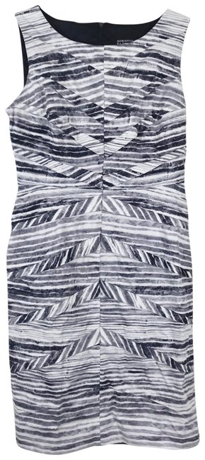 Preload https://img-static.tradesy.com/item/23680293/adrianna-papell-multicolor-chevron-tiered-pleated-sheath-short-workoffice-dress-size-4-s-0-1-650-650.jpg