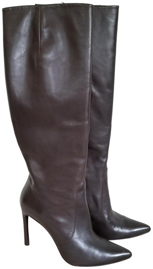 Stuart Weitzman Leather Knee High Brown Boots