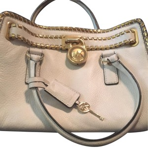 MICHAEL Michael Kors Satchel in white