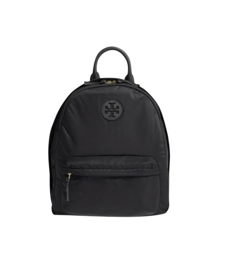 Preload https://img-static.tradesy.com/item/23680377/tory-burch-ella-tote-purse-black-nylon-backpack-0-0-540-540.jpg