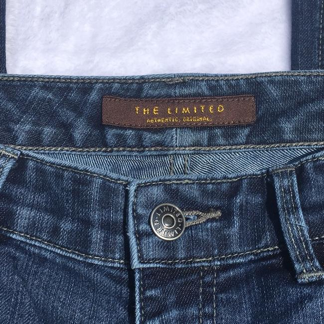 The Limited Stretch Classic Mid Rise Boot Cut Jeans-Medium Wash