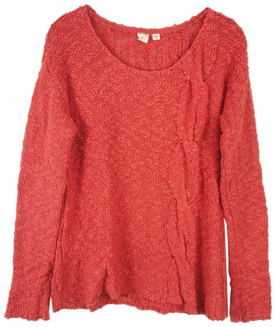 Preload https://img-static.tradesy.com/item/23680436/anthropologie-skewed-cable-knit-orange-sweater-0-1-650-650.jpg