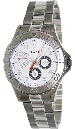 Timex Timex Male Ameritus Watch T2P038 White Chronograph