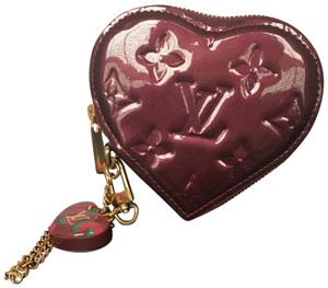 Louis Vuitton Louis Vuitton Stephen Sprouse Heart Coin Vernis Purse Limited Edition