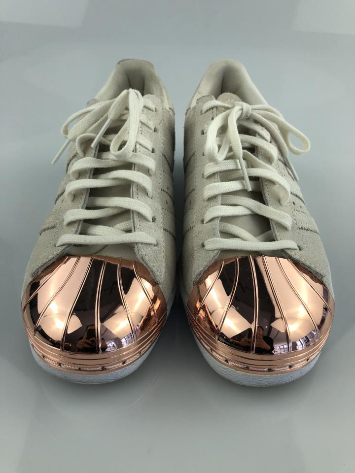 White Superstar Off Sneakers 80s Rose adidas Gold Metal Toe Bw5z1xq