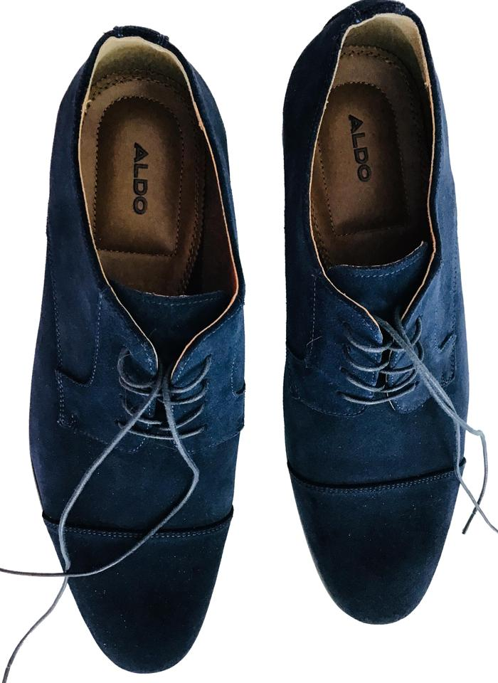 1b66fdc40296 ALDO Blue Aldo-suede Oxford Formal Shoes Size US 12 Regular (M