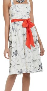 fb32516c191c4 Maeve Green with French Bulldog Print Composed Pintuck Button-down ...