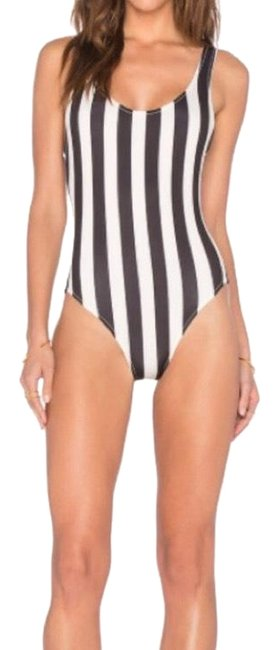 Item - Black and Cream Anne Marie One-piece Bathing Suit Size 12 (L)