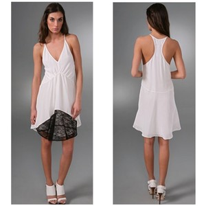"Pencey short dress ""Anthrax"" White & Black on Tradesy"