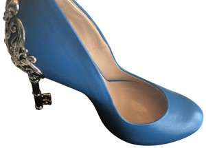 John Richmond Blue Pumps