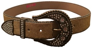 Cära Couture Jewelry Cara NY Wide Pony Hair Belt