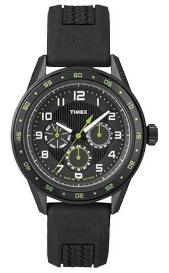Timex Timex Male Dress Watch T2P044 Black Chronograph