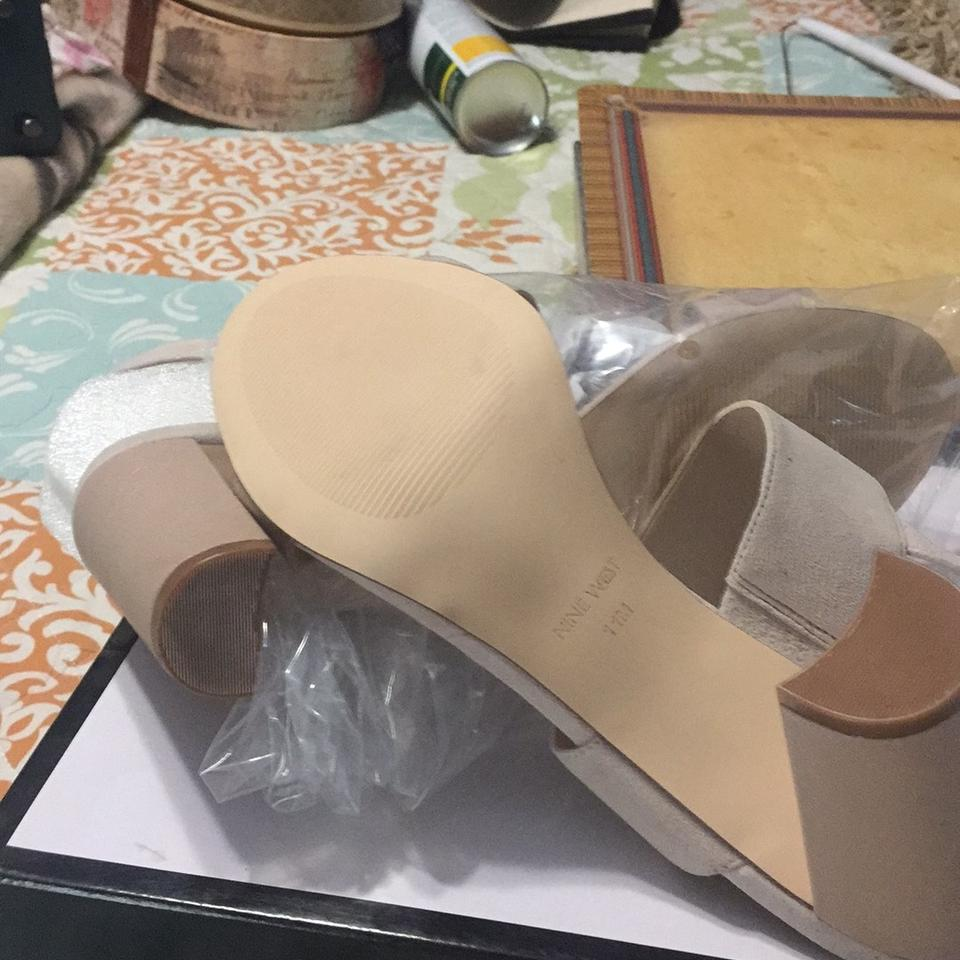 a7568f81104 Nine West Nude Narolyn Sandals Size US 11 Regular (M