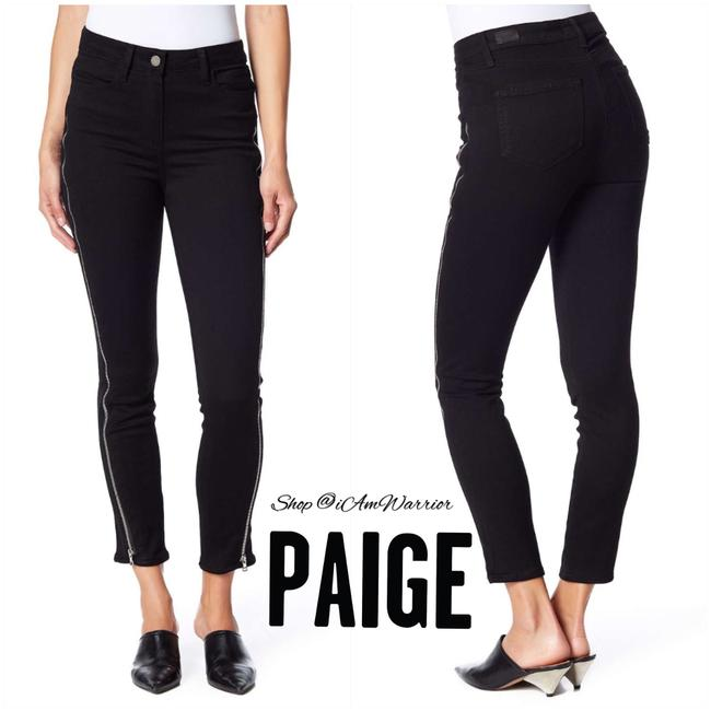 Item - Black Margot Zipper High Rise Ankle Skinny Jeans Size 4 (S, 27)