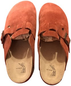 White Mountain Burnt orange Mules