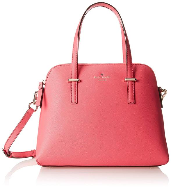 Item - New York Cedar Street Maise Cabernet Pink Leather Satchel
