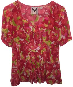 Marc Bouwer Top red/pink