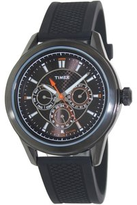 Timex Timex Male Multifunction Watch T2P179 Black Analog