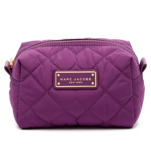 Marc Jacobs M0011326 QUILTED NYLON LARGE COSMETIC CASE
